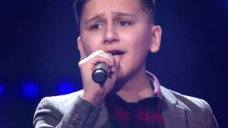 Abu - &#39My Heart Will Go On&#39 Blind Auditions The Voice Kids VTM