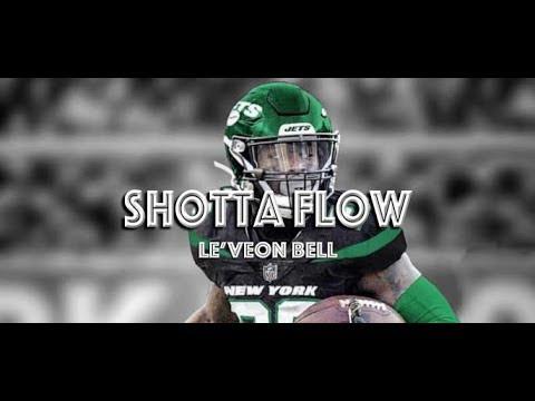 "le'veon-bell---ny-jets-hype-up-  -""shotta-flow""-ᴴᴰ-  -nle-choppa"