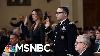 Nicolle: Two Public Servants Speak Truth To Power In Face Of Public Criticism From Trump | MSNBC