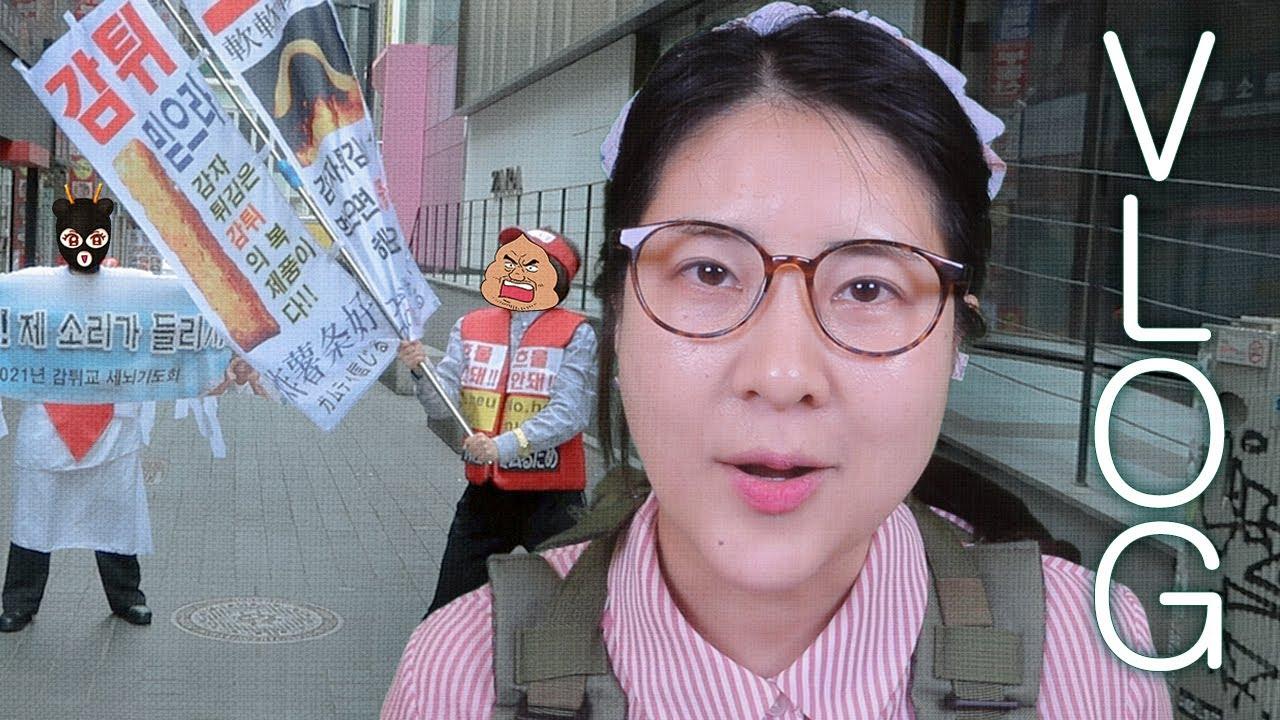 도믿걸 브이로그 (feat.감튀교)