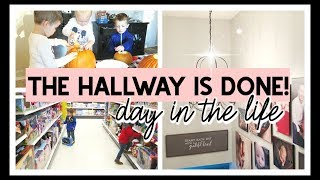 THE PAINTING IS DONE (FOR NOW)! | DAY IN THE LIFE OF A STAY AT HOME MOM 2019