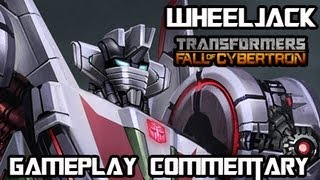 Transformers Fall of Cybertron - Wheeljack Multiplayer Gameplay & Armor Set w/ Commentary