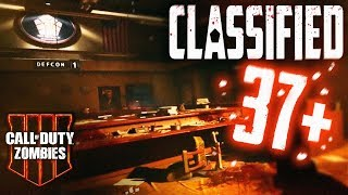 CLASSIFIED *EASY* Round 37+ Gameplay/Tutorial! (Black Ops 4 Zombies)