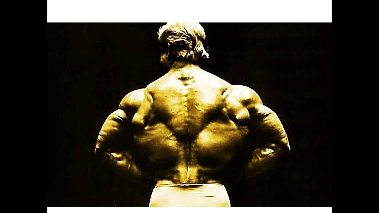 PLATZ'S THICK, WIDE BACK! TOM PLATZ'S BACK ROUTINE! THE GOLDEN ERA SERIES!!