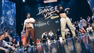Poppin C vs Acky - Finał 1vs1 na Dance Vision vol 6