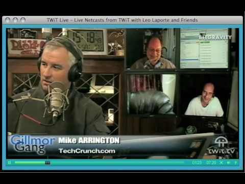 Leo Laporte Blows up at Mike Arrington on the Gillmor Gang - June 6, 2009