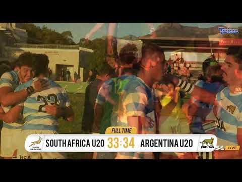 U20 International Series - Junior Springboks vs Argentina U20s