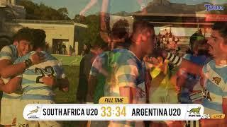 U20 International Series - Junior Springboks vs Argentina U20s