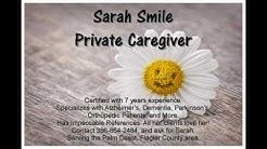 Sarah Smile Private Caregiver in Palm Coast, FL