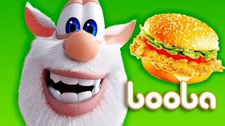 Booba Fast Food - Funny cartoons about booba's adventures - Moolt Kids Toons Happy bear