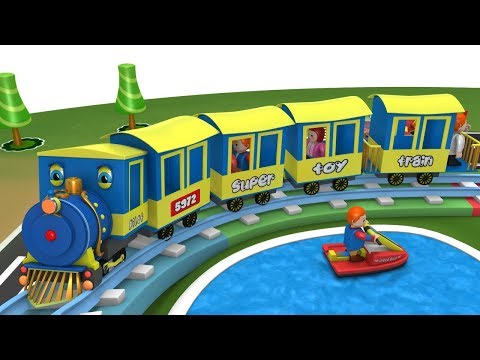 Thomas The Train - Trains for Kids Videos - Toy Train Cartoon - Toy Factory