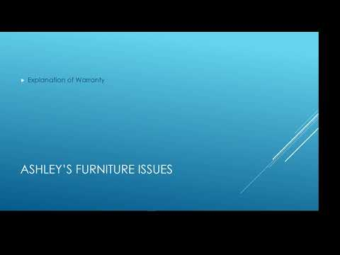 Ashley's Furniture - POOR EVERYTHING