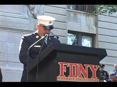 9/11 Memorial Service for Firefighters