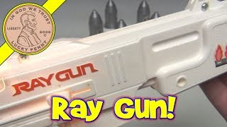 Shoot Out In Space Vintage Light Up Ray Gun Game No. 2509, 1978 Tomy Toys