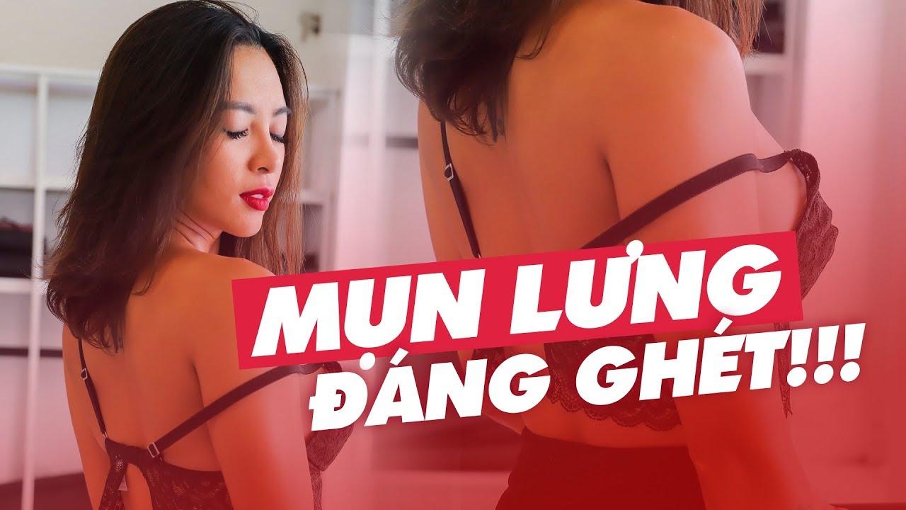 DÀNH CHO NHỮNG AI BỊ MỤN LƯNG | Woman tips ♡ Hana Giang Anh
