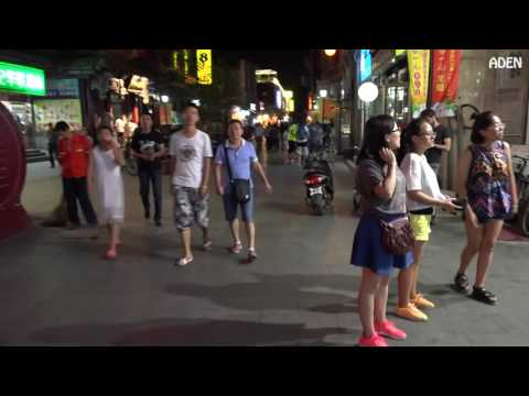 Street Food & Hutong Night Walk Beijing, China