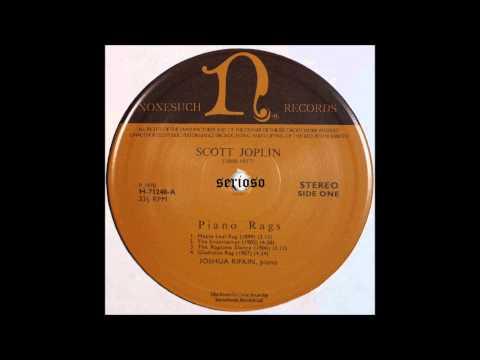 Scott Joplin Piano Rags, SIDE 1, Joshua Rifkin, Piano