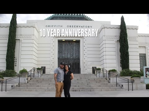 VLOG #10 Griffith Observatory 10 year Anniversary