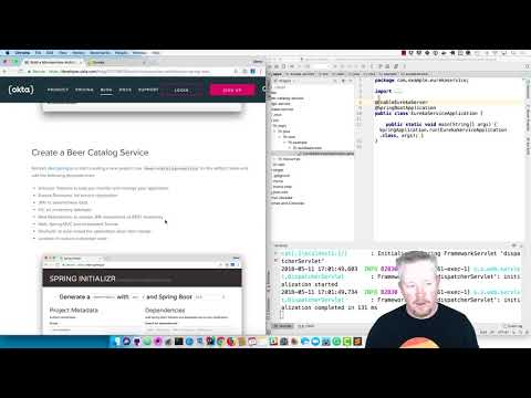 Build a Microservices Architecture with Spring Boot - YouTube