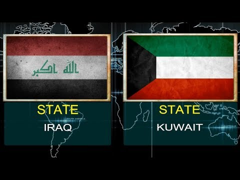 IRAQ VS KUWAIT -  Military Power Comparsion  (2018).