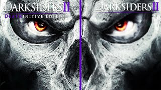 Darksiders 2 vs Darksiders 2 Deathinitive Edition - Graphics Comparison PC MAX SETTINGS