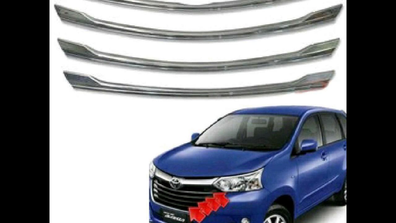 Grill Chrome Grand New Avanza Brand Toyota Camry Nigeria Xenia List Untuk Facelift Youtube