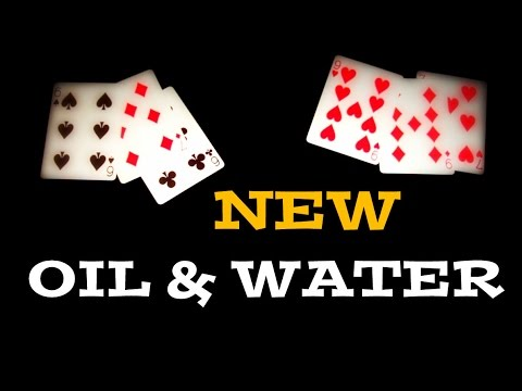 NEW Oil & Water - No Elmsley Count Needed! // CARD TRICK REVEALED