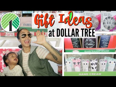 COME WITH ME TO DOLLAR TREE! HOLIDAY GIFT IDEAS | VLOGMAS DAY 2