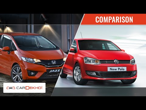 Volkswagen Polo Vs Honda Jazz | Comparison Video | CarDekho.com