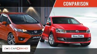 Volkswagen Polo Vs Honda Jazz | Comparison Video | CarDekho.com
