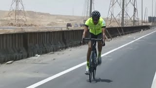Fastest cyclists across Europe break world record for kids with autism