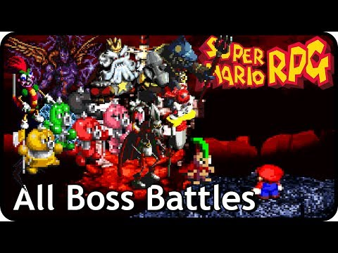 Super Mario RPG: The Legend of the Seven Stars - All Boss Ba