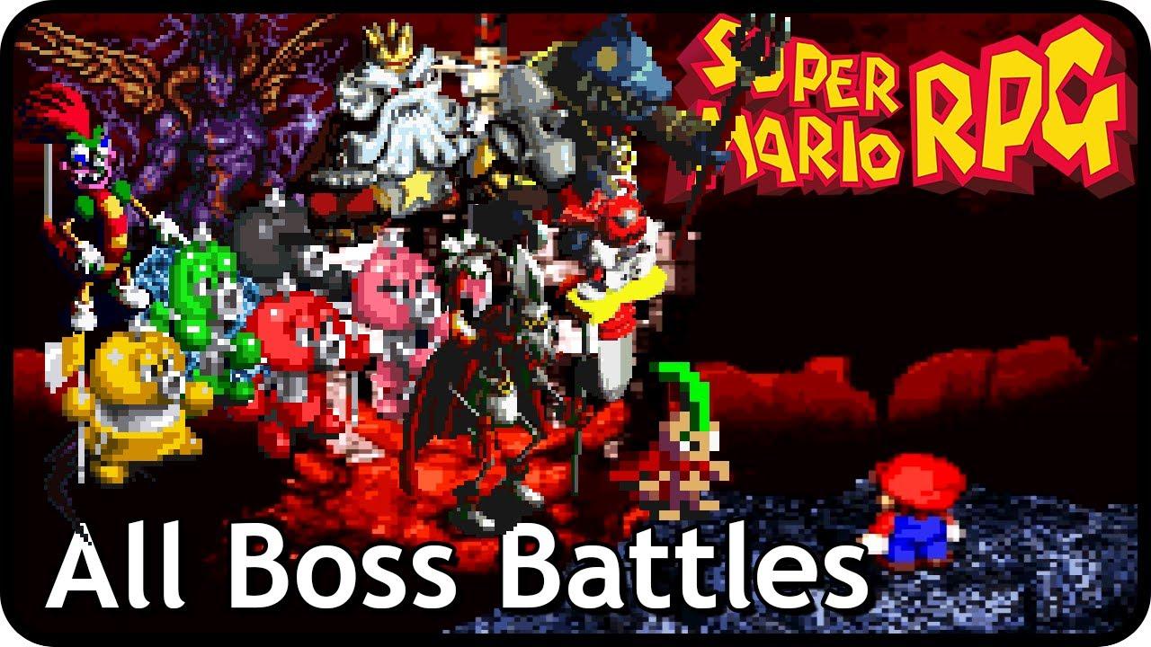 super mario rpg the legend of the seven stars all boss battles rh youtube com Super Mario RPG Sprites Super Mario RPG Geno