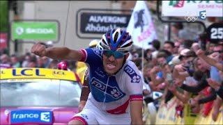 Dauphiné : le dernier kilomètre de la 6e étape remportée par Thibaut Pinot
