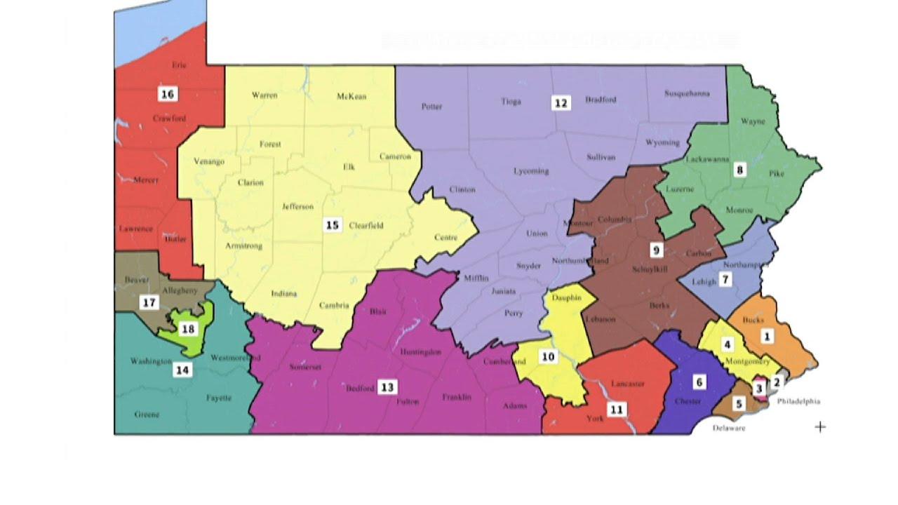 Pennsylvania Top Court Redraws Congressional Map