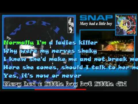 Snap - Mary Had a little boy