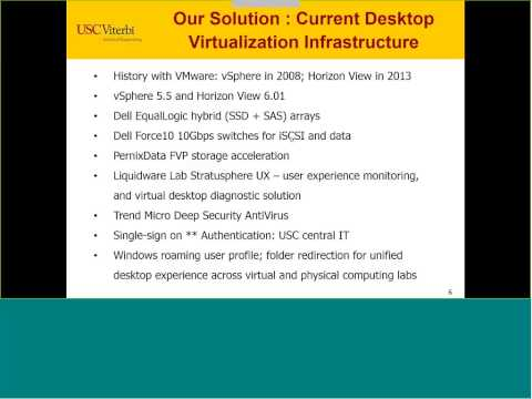 Webinar Replay Featuring USC's Viterbi School of Engineering on NVIDIA & VMware