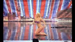 Lorna Bliss impersonates Britney Spears on Britain's Got Talent 2011 (HQ)