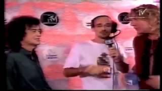 Robert Plant & Jimmy Page - Interview with Fabio Massari -MTV -199601272