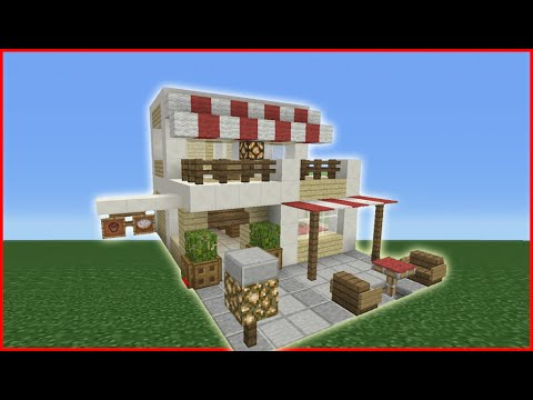 Minecraft Tutorial: How To Make A Cafe