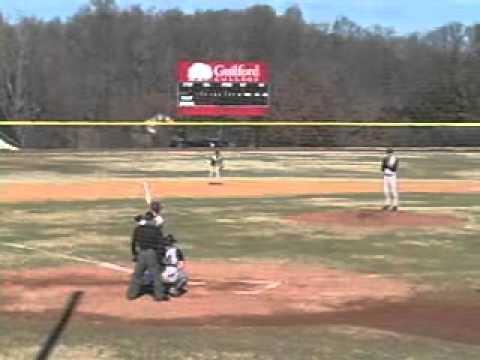Guilford Baseball vs. Piedmont 2/6/11 Highlights
