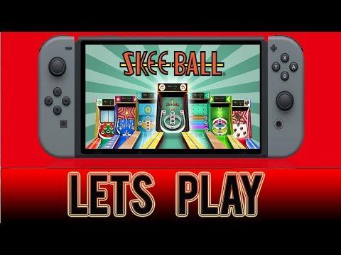 Skee-Ball  - Bonus ball - Nintendo Switch Gameplay
