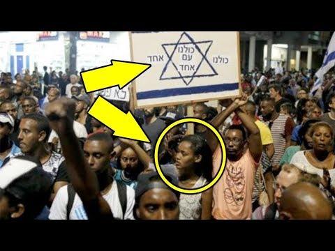 İsrail'de Tuhaf Şeyler Oluyor. - Etiyopya'lı Yahudilerin Ne Yaptığına İn