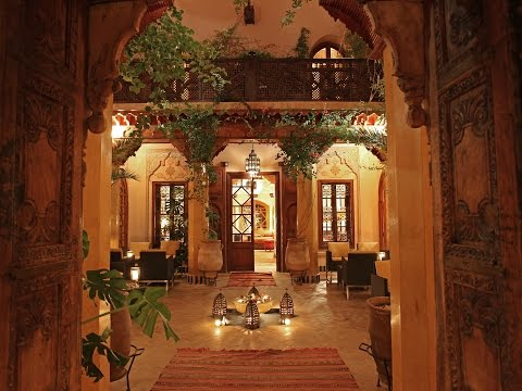 La Maison Arabe Luxury Marrakech Hotel walk through
