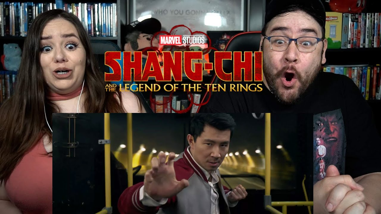 SHANG-CHI and the Legend of the Ten Rings - Official Teaser Trailer Reaction / Review