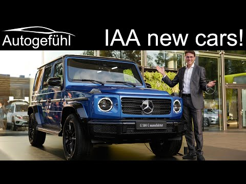 Join the tour! New cars @ IAA Frankfurt Motor Show 2019 as if you were there! Autogefühl