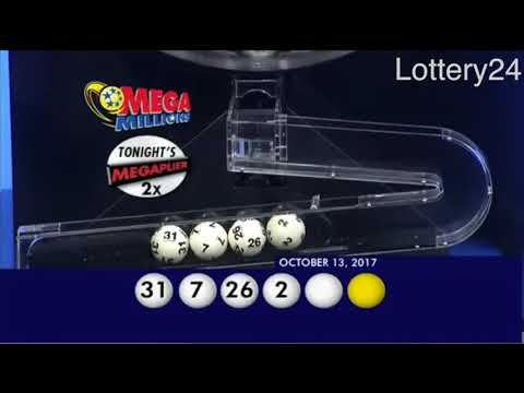 2017 10 13 Mega Millions Numbers and draw results