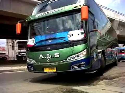 Bus Als 371 Super Executive Seat 2 1 Medan Padang Youtube