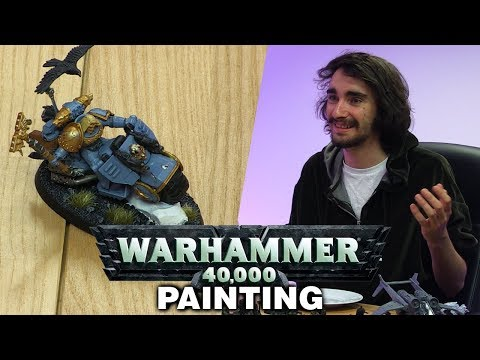 Warhammer 40,000 - Model Painting w/ Duncan, Mark, Barry and Mike!