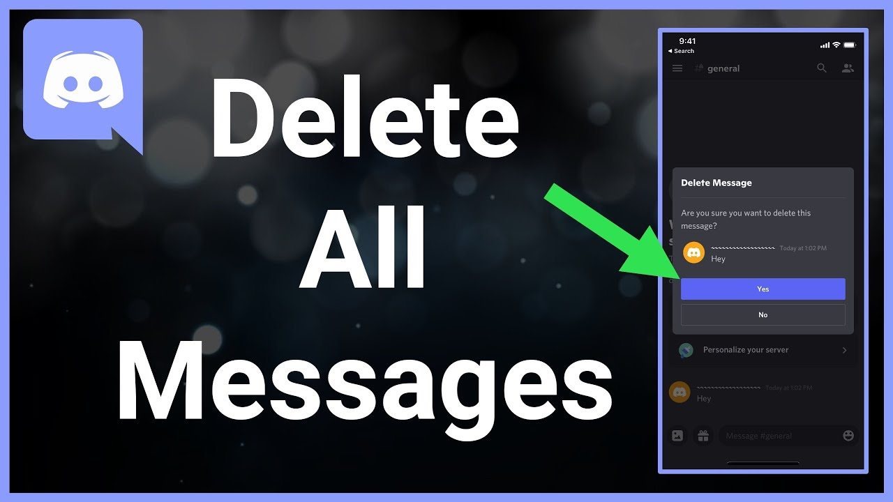 How To Delete (All) Messages On Discord At Once